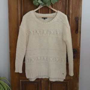 American Eagle Wool Blend Chunky Knit Sweater